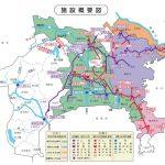 神奈川県水道施設概要図のサムネイル
