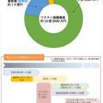 コロナ予防接種費用グラフのサムネイル